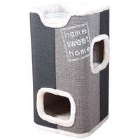 trixie torre para gatos jorge 78 cm gris 44957