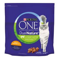 purina one dual nature con pollo - 4 x 14 kg - pack ahorro