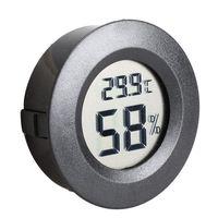 mini lcd centigrados termometro digital medidor medidor de humedad congelador probador de temperatura humedad detectar