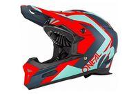 o  39 neal casco furia rl hibrido rojo m  57 58 cm