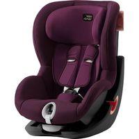 britax romer silla de coche king ii black series burgundy rojo