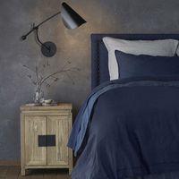 cabecero de cama de lino lavado al 115 cm yliana