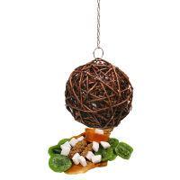 jr birds bola de mimbre con frutas - diametro 15 cm