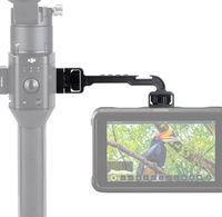 agimbalgear dh11 camara soporte de extension del estabilizador con zapata fria 14 inch tornillo para dji montaje ronin s monitor led luz de video mic