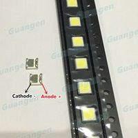 200pcs original for wooree led backlight led 2w 6v 3535 150lm cool white wm35e2f-yr09b-ea lcd backlight for tv application