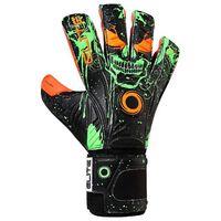 elite sport guantes portero ork 11 black  orange  green