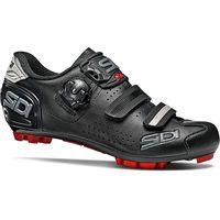 sidi womens trace 2 mtb shoes 2020 - negronegro - eu 42 negronegro