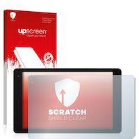 upscreen scratch shield protector pantalla compatible con medion lifetab p10602 md 60519 pelicula