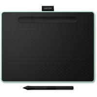 intuos m bluetooth tableta digitalizadora 2540 lineas por pulgada 216 x 135 mm usbbluetooth negro verde tableta grafica