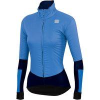 sportful womens bodyfit pro w jacket  - parrot blue-black - xl parrot blue-black