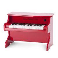 new class ic toys e-piano - rojo - 25 teclas