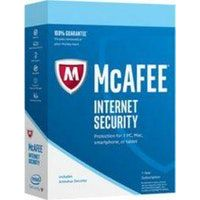 mcafee mcafee internet security 2018 1y base license 1 an