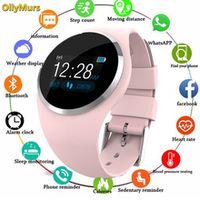 2019 smart watch women ip67 waterproof activity tracker fitness bracelet with blood pressure monitor heart rate tracker watch