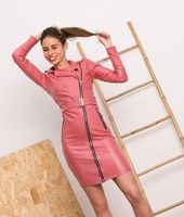 vestido zayn - rosa