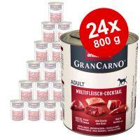 animonda grancarno original adult 24 x 800 g - pack ahorro - vacuno y pavo