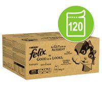 felix fantastic 120 x 100 g - jumbopack - vacuno pollo bacalao y atun