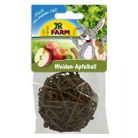 pelota de mimbre con manzanas jr farm - aprox 8 cm