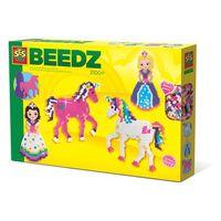 ses creativ e beedz cuentas unicornios y princesas - de colores