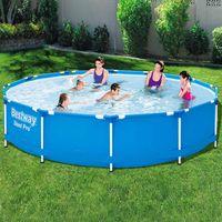 bestway piscina con estructura steel pro 366x76 cm