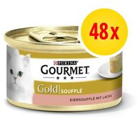 megapack gourmet gold souffle 48 x 85 g - pollo