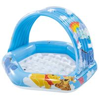 intex piscina para bebes winnie the pooh multicolor 109x102x71 cm