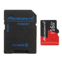 microdata 16gb c10 u1 micro tf tarjeta de memoria con adaptador de tarjeta convertidor para tf a sd