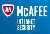 mcafee internet security 2018 5 years  1 pc