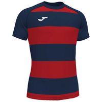 joma camiseta manga corta pro rugby ii xxxl dark navy  red