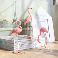 ins wedding decor flamingo decoration christmas home decor flamingo table decora for baby living room romatic party ornament