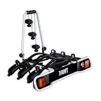 thule portabicicletas euroride 7-pin para 3 bicicletas 3 bikes black
