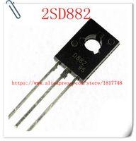 100pcslot d882 2sd882 npn 3a 30v to-126 medium power transistors  transistors