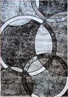 alfombra circle gris