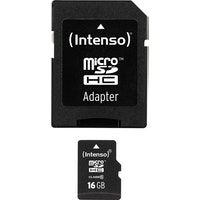 intenso intenso 16gb microsdhc memoria flash clase 10