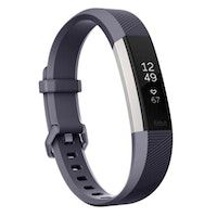 fitbit alta hr wristband activity tracker gris oled
