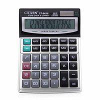 gtttzen ct-9616 calculadora grande para oficina y escuela