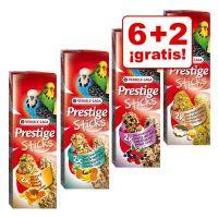 versele-laga prestige sticks para periquitos 8 uds en oferta 62 gratis - 8 unidades 240 g