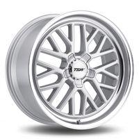 tsw hockenheim s 95x19 5x112 et40 112 silver - llanta de aluminio