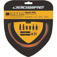 juego de cables de freno de carretera jagwire pro - naranja naranja