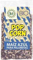 solnatural maiz azul para palomitas bio 500 g