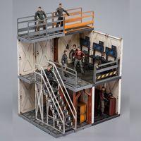 joytoy 118 mecha depot area de monitoreo nuevo juguete para juguetes coleccionables