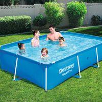 bestway piscina steel pro con estructura de acero 259x170x61cm 56403