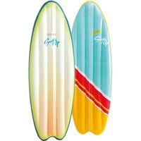 58152 multicolor vinilo colchon flotante flotador para piscina y playa plataforma flotante