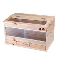 madera herramienta tanque de alimentacion para reptiles caja caja de calefaccion jaula lagarto serpiente