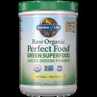 raw organic perfect food green superfood - original - 414g