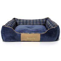 scruffs cama para mascotas highland azul xl