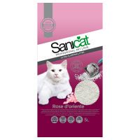 sanicat rose doriente arena aglomerante para gatos - 5 l