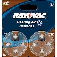 varta varta ha312 bateria no-recargable zinc-aire 145 v