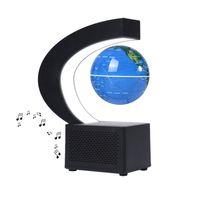 aibecy magnetic floating globe bt speaker 35 pulgadas leviation world map globe levitating rotating earth ball con led regalo educativo de cumpleanos para ninos estudiantes adultos decoracion de escritorio