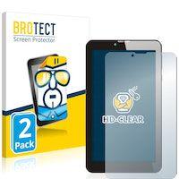 brotect protector pantalla compatible con odys pyro 7 plus 3g 2 unidades - transparente
