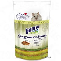 comida zwerghamster traum basic  para hamster enano - 2 x 600 g - pack ahorro